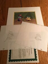 The Pink Panther Original Production Matted Animation Cel+Sketch Muck Luck Pp6