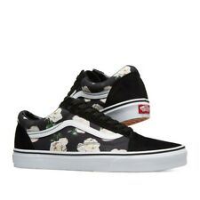 Brand New NO LID Vans Old Skool Romantic Floral Black Men's Shoes Size 11.5