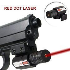Tactical Red Dot Laser Sight 20mm Picatinny Weaver Rail Mount Pistol Gun Airsoft