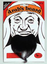 Black Arab Goatee Beard Arabian Fancy Dress Mens National Costume Outfit Beard