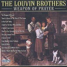 Weapon of Prayer by The Louvin Brothers (CD, Jun-2003, Gusto Records)