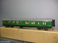 VINTAGE HAMBLING'S (00) MODEL  SR / BR 3rd CLASS BRAKE COACH  (PART-BOXED VN MIB