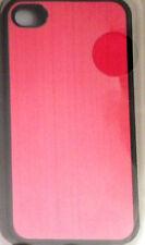 iPhone 4/4S Case Logic Protective Case Metallic Pink, Silver & Red NIB Free Ship