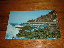 Along The Gaspe Highway Near Ste Marthe De P.Q. Pres Riviere Canada old Postcard