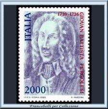 1986 Italia Repubblica L. 2000 Pergolesi n. 1754 **