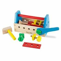 Melissa and Doug Take-Along Tool Kit Wooden Toy