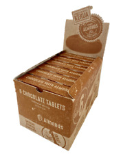 Kekua traditional Mexican Ground hot Chocolate drink tablets with Almonds