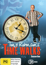 Tony Robinson's Time Walks: Season 1  - DVD - NEW Region 4