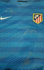 Torres Koke Godin Atletico de Madrid player issue & Signed sweater PROOF shirt