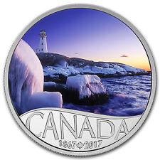 2017 Canada 1/2 oz Ag $10 Celebrating Canada's 150th: Lighthouse - SKU #104098