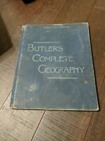 1887 Butler's Complete Geography Book - Pennsylvania Edition by Redway