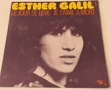 "ESTHER GALIL - JE T'AIME A MORT -  French Barclay 7"" PS - Psych Prog HEAR"