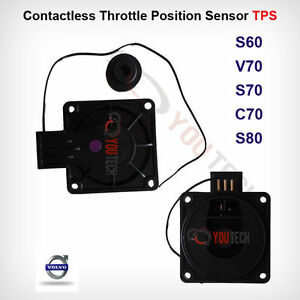 Contactless Throttle Position Sensor TPS Volvo ETM 99-02 Throttle Body Fits S80