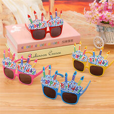 Funny Party Glasses Happy Birthday Party Favors Costume Novelty Sunglasses JCEQA