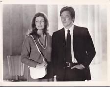 Alain Delon and Gayle Hunnicutt in Scorpio 1973 vintage movie photo 32393