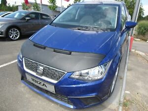 CAR HOOD BRA fit Seat Ibiza 6F since 2017  NOSE FRONT END MASK