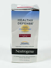 Neutrogena Healthy Defense Daily Moisturizer Spf 50 helioplex 1.7oz Nib 05/2021