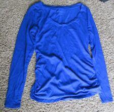 Women's Maternity Clothes Top Long Sleeve Shirt Liz Lange Size M Medium