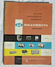 1958 Heathkit Catalogue with LOTS of info on HIFI and test equipment