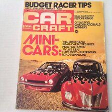 Car Craft Magazine Wild Street Freaks Buy Guide March 1975 NO ML 070517nonrh
