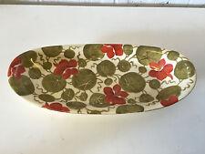 Antique PH Leonard Vienna Austria Painted Porcelain Oblong Vegetable Dish