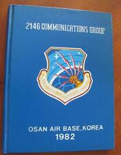 2146 Communications Group Osan US Air Force Base Korea Vintage 1982 Yearbook