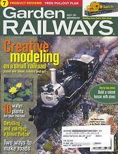 GARDEN RAILWAYS MAGAZINE AUGUST 2005 VOL 22, NO 4