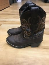 Smoky Mountain Boots Kids Todler Western Cowboy Boots Size 10.5
