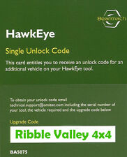 LAND ROVER HAWKEYE DIAGNOSTIC TOOL ADDITIONAL VEHICLE UNLOCK CODE RANGE ROVER