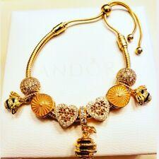 Authentic!! NEW. Pandora SHINE Honey Bee Charm bracelet.
