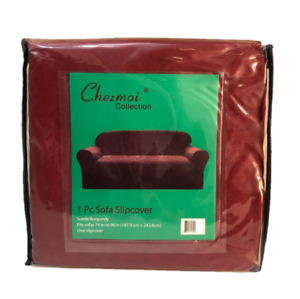 """Micro Suede Classic Sofa Slipcover 