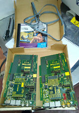 Philips SAA7113 & SAA7114 ISA Decoder Baords with Software & Cable