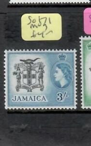 JAMAICA (P2306BB)  QEII  3/-    SG 171    MOG