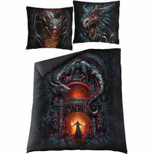 Spiral Direct DRACONIS SINGLE DUVET COVER BEDDING PRINT/Dragon/Double