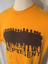 NBA FSN LA Lakers Lonzo Ball Represent T-shirt XL NICE Yellow