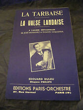Partition La frai la valse landaise Moranez Ezquerra Duleu Music Sheet