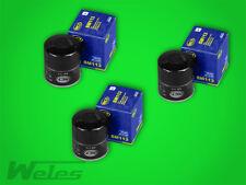 3 x SM113 Ölfilter PEUGEOT 106 205 206 305 306 1,1 1,4 1,6 1,8 1,9 D 2,0 HDi S16