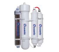 Portable RODI 75 GPD Aquarium Reef Reverse Osmosis Water Filter System DI Resin