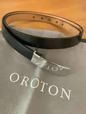 Oroton Small Leather belt and dust cover in good condition