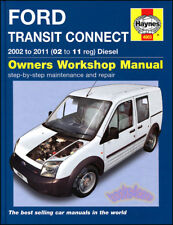 Transit Connect Ford Shop Manual Service Repair Book 2010 2011 Haynes Chilton 02