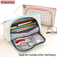 Large Capacity Portable Kawaii Storage Box Pencils Pouch  Pen Bag Pencil Case