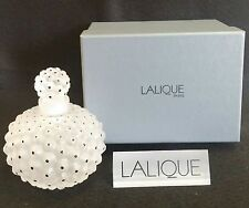 LALIQUE CACTUS No.1 LARGE PERFUME BOTTLE *NEW IN BOX*