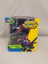 Super Wings Transforming Vehicle Agent Chace Figure New In Box