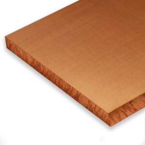 Kupfer Platte 5 mm Cu-DHP Kupferblech Kupferplatte Blech Kupfer-Blech