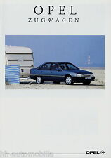 Prospekt Opel Zugwagen 10 91 Autoprospekt 1991 Astra Frontera Senator Vectra car