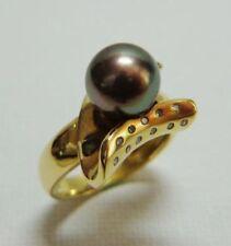 Handmade Black Not Enhanced Fine Rings