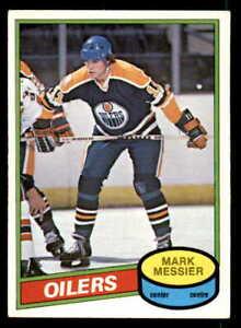 1980-81 O-Pee-Chee #289 Mark Messier Oilers Rookie EX-MT (ref 5478)