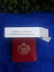 2 euros Monaco 2017 200 ans carabiniers  BE