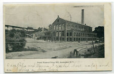 Power House Tubes Hill Amsterdam New York 1907c postcard