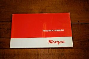 THE HISTORY OF A FAMOUS CAR MORGAN BROCHURE WATER DAMAGE